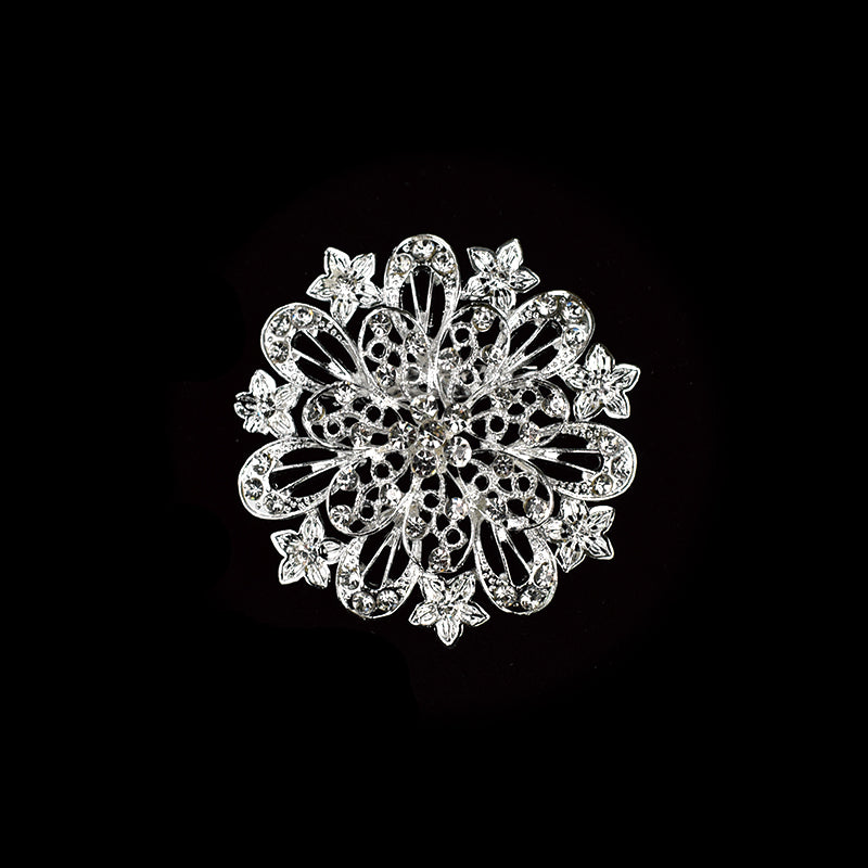 Rhinestone Brooches Crystal Rhinestone Brooch Pin