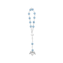 Load image into Gallery viewer, Wrist Rosary-Crystal Rosary Bracelet-Blue