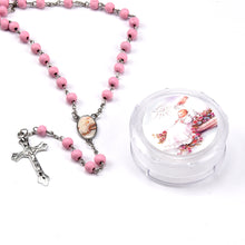 Load image into Gallery viewer, Baptism Rosary Favors-Scented Rosaries Gifts