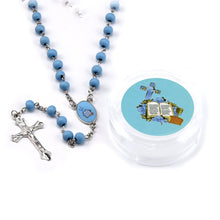Load image into Gallery viewer, Rosary First Communion-Rose Scented Rosary With Gift Box.