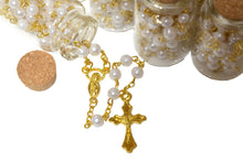 Load image into Gallery viewer, Rosary Cross Necklace-Rosary Necklace Catholic in Glass Jar