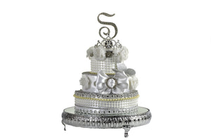 Cake Stand Mirror Top-Wedding Cake Stand 16 Inches.