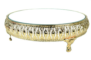 Cake Stand Mirror Top. 10 Inches.