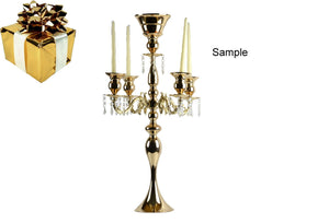 Candle Holder Stand 5 Arm Candelabra Wedding Centerpieces