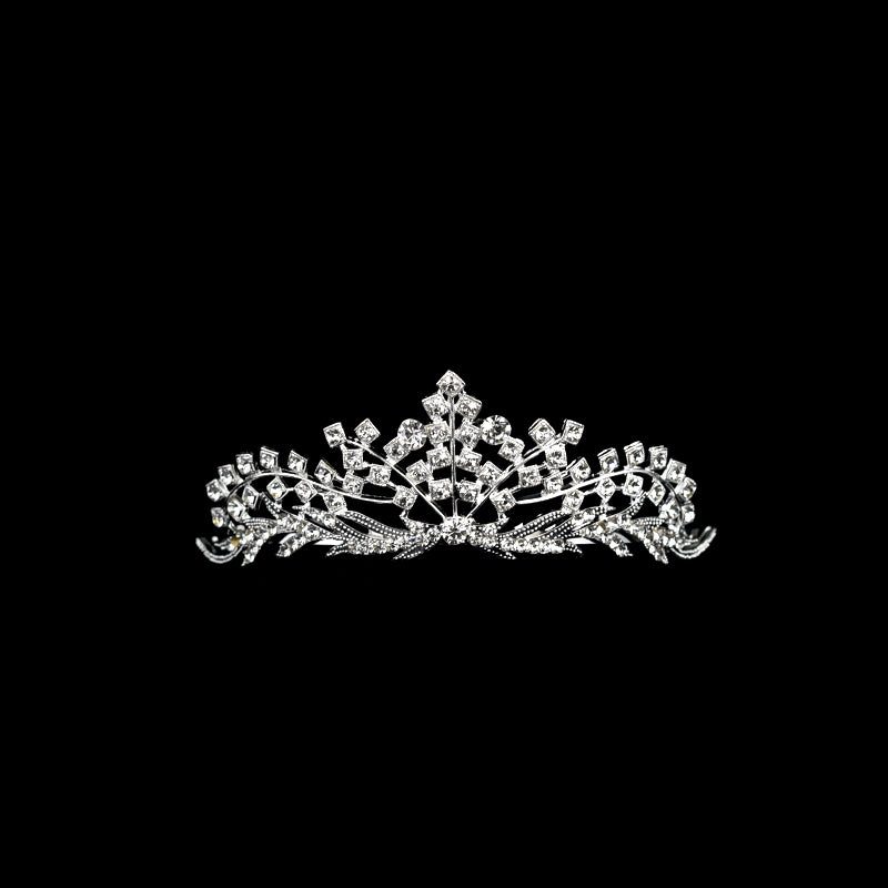Tiara Crown Party Prom Crystal Tiara Crown Headband