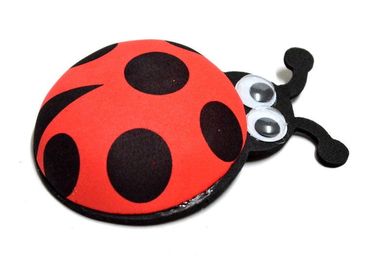 Ladybug Party Favors-Ladybug Cutouts with Googly Eyes