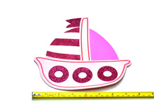 Load image into Gallery viewer, Nautical Baby Shower-Sailboat Cutouts Foam