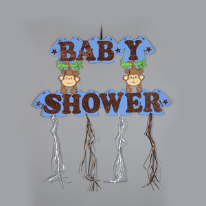Baby Shower Banner Jungle Theme Baby Shower Banner