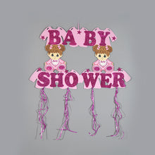 Load image into Gallery viewer, Baby Shower Banner-Glitter Foam Baby Party Banner