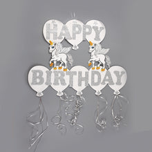 Load image into Gallery viewer, Birthday Banner Unicorn Birthday Decorations