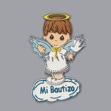 Load image into Gallery viewer, Baptism Centerpieces Angel Foam Cutouts.