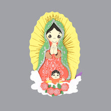 Load image into Gallery viewer, Confirmation Centerpieces-Guadalupe Foam Cutouts.