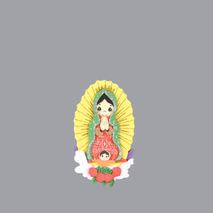 Confirmation Centerpieces-Guadalupe Foam Cutouts.