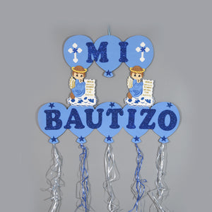 Baptism Banner-Christening Party Banner Decorations.