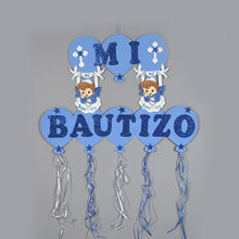 Load image into Gallery viewer, Baptism Banner-Christening Party Decorations