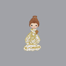 Load image into Gallery viewer, Communion Centerpieces Girl Glitter Foam Cutouts