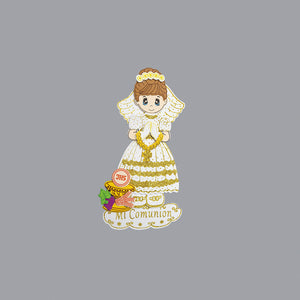 Communion Centerpieces Chalice Foam Cutouts-Girl