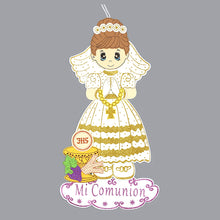 Load image into Gallery viewer, First Communion Banner-Chalice Foam Cutouts Girl-XL