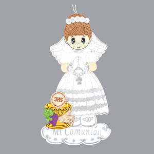 First Communion Banner-Chalice Foam Cutouts Girl-XL