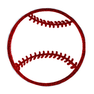 Sport Themed Party Favors Baseball Foam Cutouts.