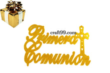 Load image into Gallery viewer, First Communion Banner Foam Cutouts XXL.