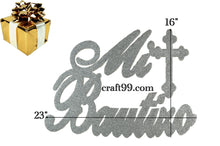 Load image into Gallery viewer, Baptism Banner Christening Wall Decorations. XL.