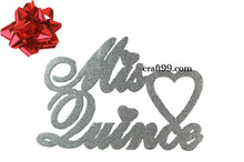 Load image into Gallery viewer, Party Banner-Mis Quince Banner Foam Cutouts