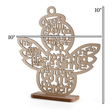 Load image into Gallery viewer, Baptism Centerpieces Wood Laser Cuts Angle Theme