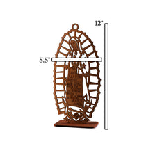 Load image into Gallery viewer, Baptism Centerpieces-Wooden Laser Cut Our Lady Guadalupe