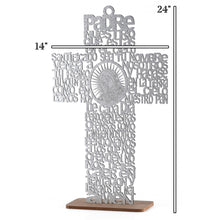 Load image into Gallery viewer, Baptism Centerpieces-Guadalupe Wood Laser Cut-L