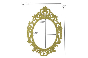 Oval Picture Frames Fancy Laser Cut Oval Photo Frames