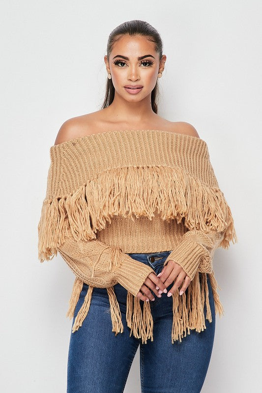 Fringe For You Sweater