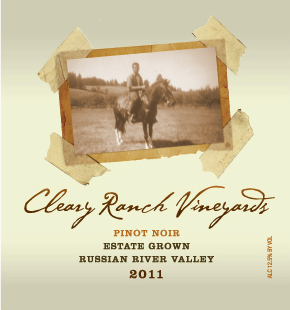 2011 CRV Pinot Noir - Estate Grown