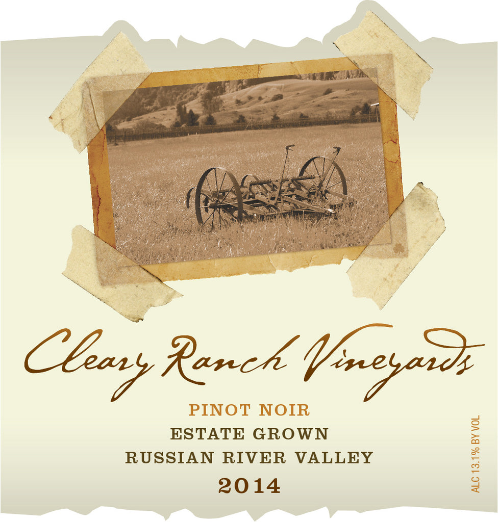 2014 CRV Pinot Noir - Estate Grown