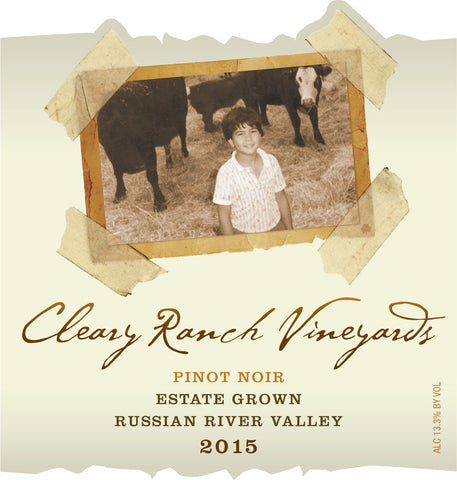 2015 CRV Pinot Noir - Estate Grown