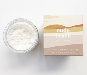 Nude Beach Coconut Bath Soak