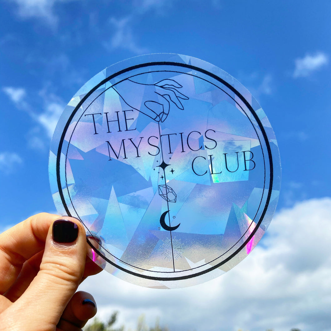 The Mystics Club Suncatcher Window Decal