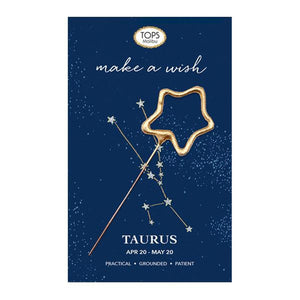 Zodiac Mini Sparkler Card- All Signs