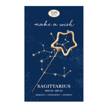 Load image into Gallery viewer, Zodiac Mini Sparkler Card- All Signs