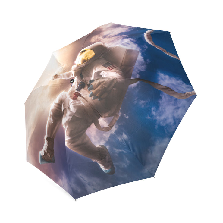 Astronaut Adrift Foldable Umbrella