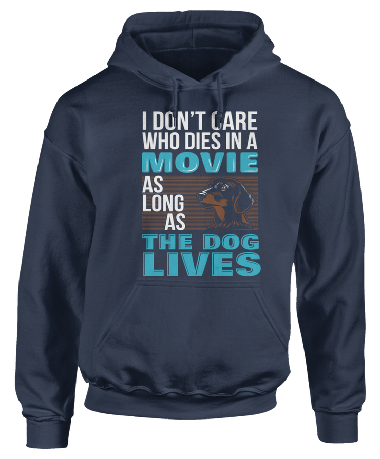 Dachshund - Don't Care Who Dies in Movie, The Dog Lives