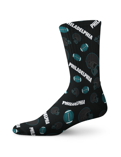 Philadelphia Football IconsCrew Socks