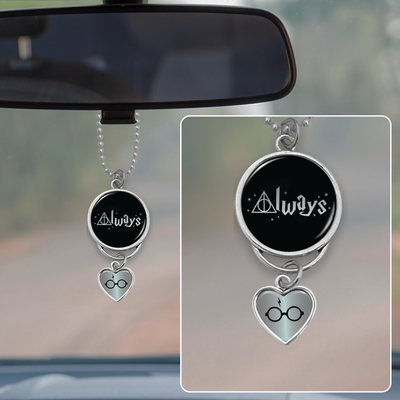 Hallows Always Rearview Mirror Charm