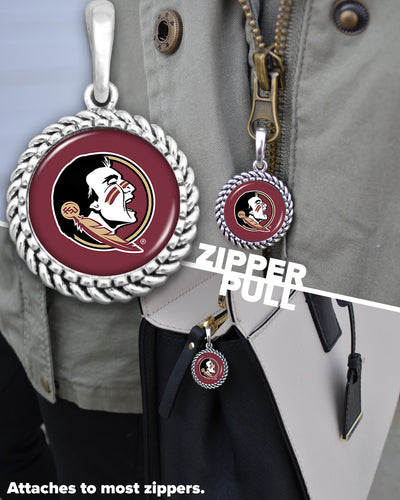 Florida State Seminoles Easy-O Zipper Pull Charm