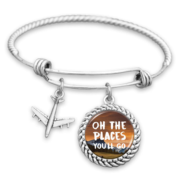 Oh The Places You'll Go Charm Bracelet