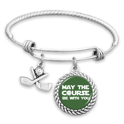 May The Course Be With You Charm Bracelet