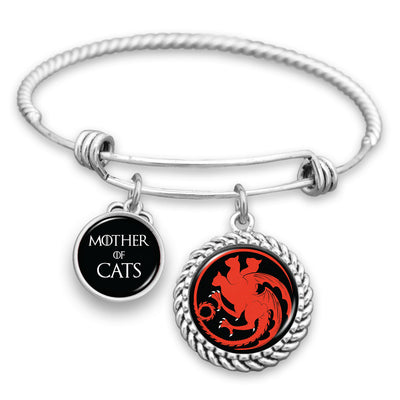 Mother Of Cats Sigil Charm Bracelet