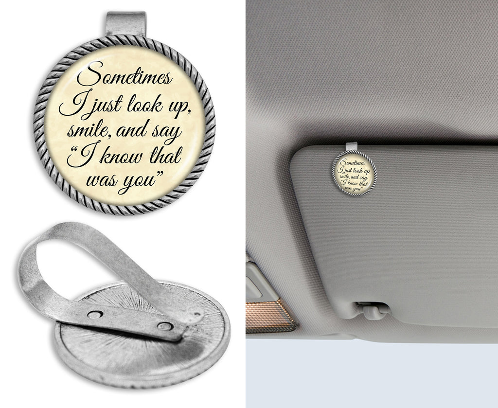 Know That Was You Circle Auto Visor Clip