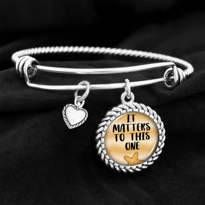 It Matters To This One Charm Bracelet