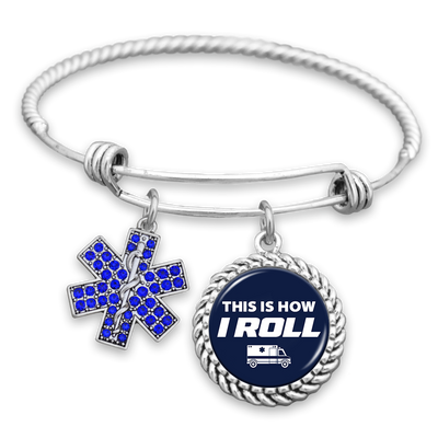 This Is How I Roll Charm Bracelet